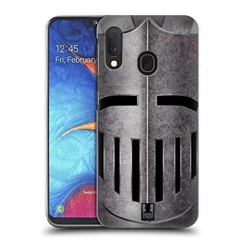 Head Case Designs Helm Mittelalterliche Rüstung Harte Rueckseiten Huelle kompatibel mit Samsung Galaxy A20e (2019) -