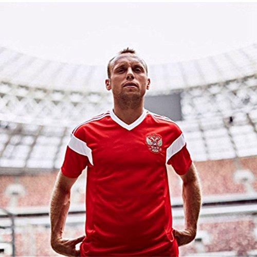 SODIAL Familie Atmungsaktive Sportbekleidung Fussball Set World Cup Russland Fussball Trikots Uniformen Fussball Kit Shirt Trainingsanzug (Mann, S)