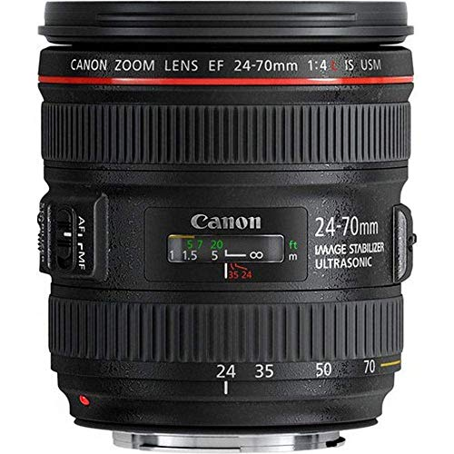 Canon EF 24-70mm F4L IS USM Standardzoomobjektiv (77mm Filtergewinde) schwarz
