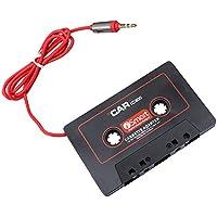 Vococal Adaptador de Cinta de Adaptador de Cassette de Audio para Automóvil Universal DE 3.5 mm