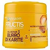 Garnier Fructis Oil Repair 3 Maschera Ultra Nutriente per Capelli Secchi Danneggiati o Spenti - 300 ml