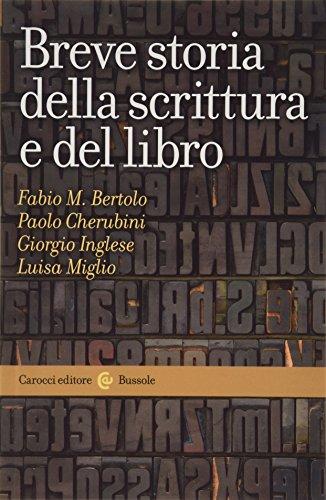 Breve storia della scrittura e del libro