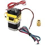 Hrph Nouvelle mise à niveau MK8 Extrudeuse 0.4mm Buse Dernières tête d\'impression pour imprimante 3D Makerbot de