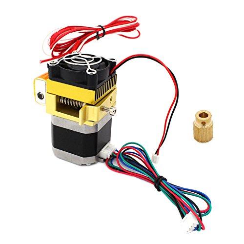 Hrph Nouvelle mise à niveau MK8 Extrudeuse 0.4mm Buse Dernières tête d'impression pour imprimante 3D Makerbot de