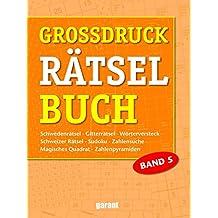 Grossdruck Rätselbuch Band 5
