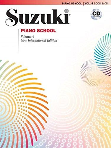Suzuki Piano School, Vol 4: Book & CD (Suzuki Method Core Materials) por Seizo Azuma