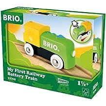 Brio - Mi Primer Circuito de Tren: locomotora a pilas (33705)
