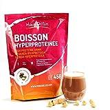 Bebida hiperproteica Chocolate-Avellana Maxi Bolsa económica 450 gr de 18 porciones para dieta proteica adelgazante