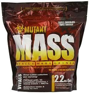 PVL Mutant Mass 2200 g Chocolate Weight Gain Shake Powder