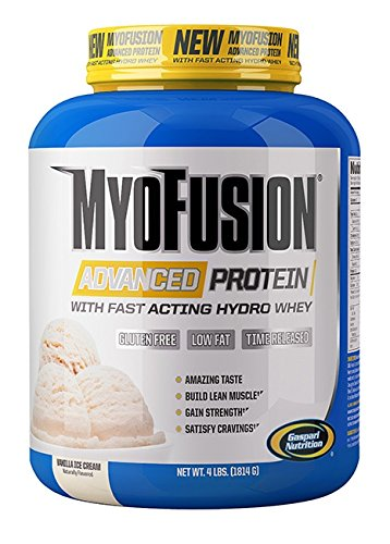Gaspari Nutrition - Myofusion Advanced 4Lb Vanilla Cream - 51KfkWMwpRL