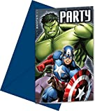 Marvel Party, Tarjetas de Invitación Los