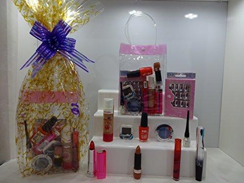 Clearance 10pc Maquillage, Parfum, DE Clous, et de parfum Bougie Panier cadeau ~ Mix marques Make Up pièces ~ Cadeau Emballé prêt au Cadeau ~ Offre spéciale