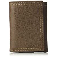 Levis 2019 Mens Wallet, Card Case & Money Organizer, Brown, 14 31LV110021