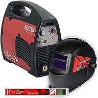 Pack de soldador Invérter Cott 195 SE 200A con pantalla electrónica y electrodos Solter