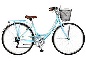 "2013 Viking Belgravia 19"" Ladies Traditional 6 Speed Bike Blue"