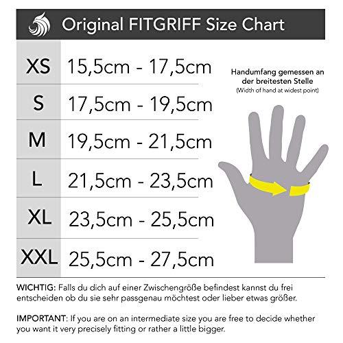 Zoom IMG-3 fitgriff v1 guanti nero m