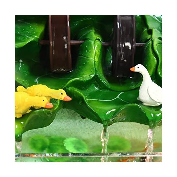 Aquarium Fish Tank Decoration Vase Child Fun Gift Goldfish Tank Study Desk Coffee Table Animal Creative Decoration