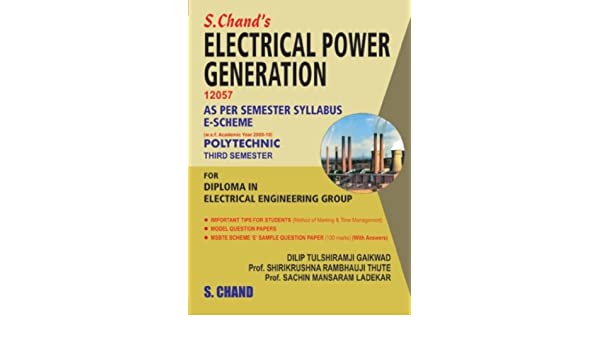 Buy Electrical Power Generation 12057 (3rd Semester) Book Online at