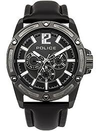 Police Herren-Armbanduhr Gift Set with Interchangable Strap Analog Quarz PL.13771JSBU/02