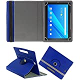 Fastway 360 Degree Rotating Tablet Book Cover For Lenovo Tab 4 10 Plus 64 GB 10.1 inch with Wi-Fi+4G Tablet Blue