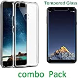 Infocus Vision 3 glass & Back Cover For Infocus Vsion 3 Tempered Glass & Back Cover (pack of 1) 1 Tempered Glass & 1 Back Cover (Combo Pack) Back cover material::Rubber