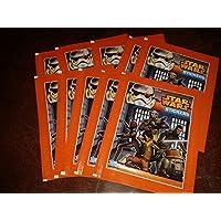 Topps TO00605 - Star Wars Rebels Coleccionando cromos, 50 de refuerzo con 5 cartas en pantalla
