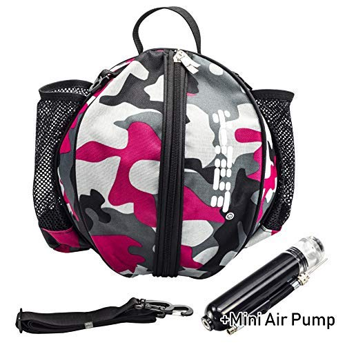 Y-Nut Bolsa Baloncesto Bomba Aire Manual tamaño Bolsillo