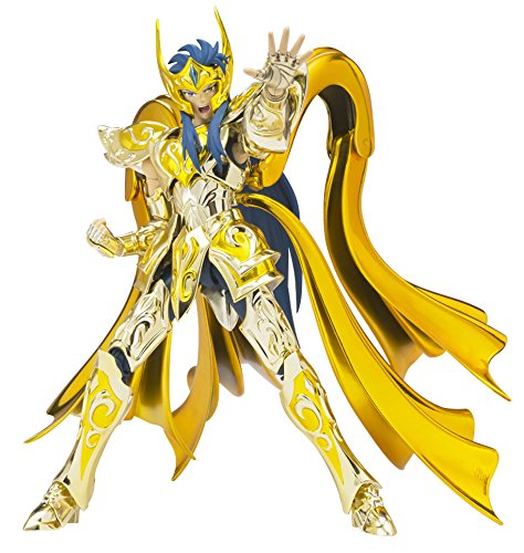 Saint Seiya - Camus Acuario New Cloth, Figura, 18 cm (Bandai BDISS018544)