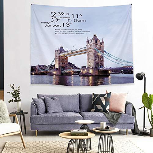 mmzki Shenglu Tapisserie benutzerdefinierte Korridor Schlafzimmer Hintergrund dekorative Stoff Nordic Tapisserie hängenden Stoff GT1877 150 * 130