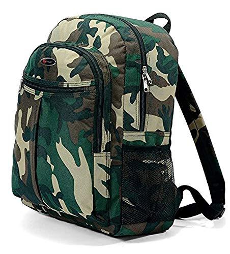 isch, Dschungel, Armee-Stil, Camouflage, Jungen, Mädchen, für Schule, College, Reisen, Urlaub, 20Liter Kapazität ()