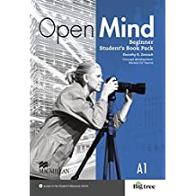 Beginner: Open Mind (British English edition). Student's Book with DVD plus Webcode (incl. MP3) and Print-Workbook with Audio-CD + Key