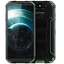 Blackview BV9500-10000mAh battery IP68/IP69K Waterproof/Shockproof Android 8.1 4G LTE smartphone, 5.7 inch (18:9) FHD+, Octa Core 4GB + 64GB Green