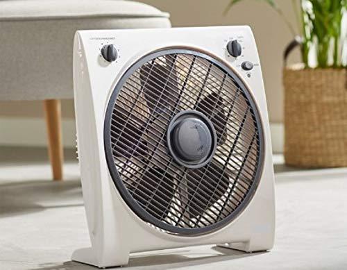 Leistungsstarker 4-Stufen Boxventilator Tischventilator Standventilator Ventilator