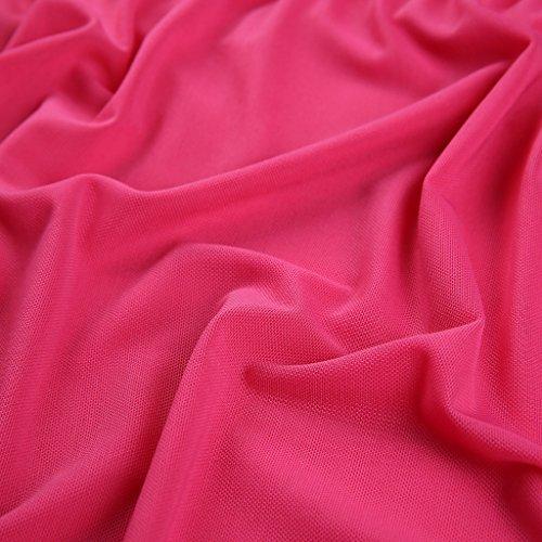 Haodasi Women sexy transparenten Dessous Spitzebügel Pyjamas Nachtwäsche reizend Rücken Purple