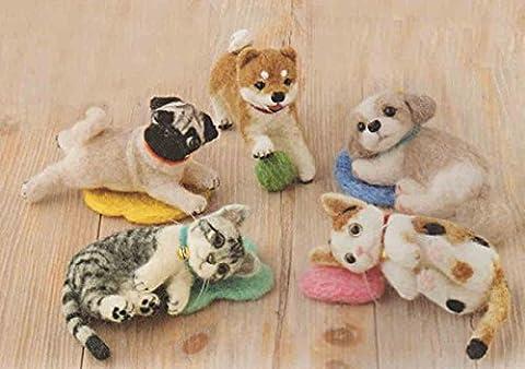 Wollfilz Schildpatt Katze (Wollfilz Thema)