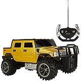 Rastar - Hummer H2, coche teledirigido, escala 1:14, color amarillo (ColorBaby 85013)