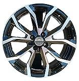 ESSE1 BP 1 Felge aus LEGA 7J 17 4X100 ET40 67,1 für FIAT GRANDE PUNTO EVO OPEL ADAM RENAULT CLIO 3 4 NISSAN