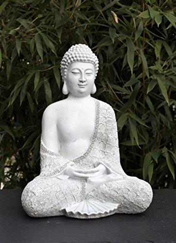 steinfigur-buddha-sitzend-antik-weiss-garten-deko-figur-stein-statue-frostsicher