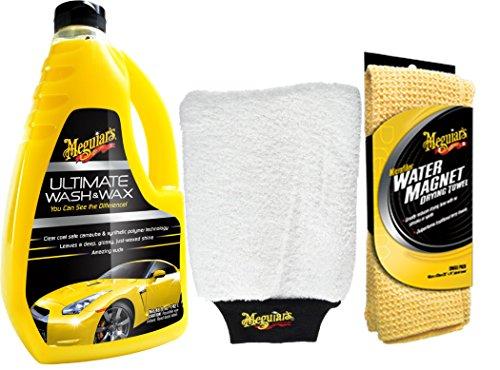 meguiars-72942-ultimate-washwax-shampoo-con-cera-meguiars-73529-guanto-in-microfibra-meguiars-panno-