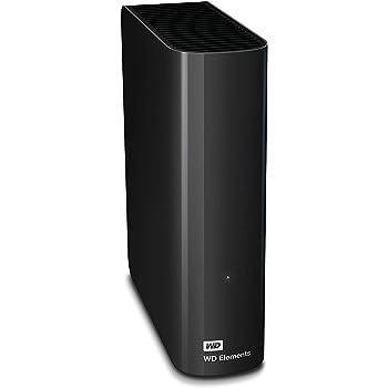 WD Elements Desktop - Disco duro externo de sobremesa de 2 TB, color negro