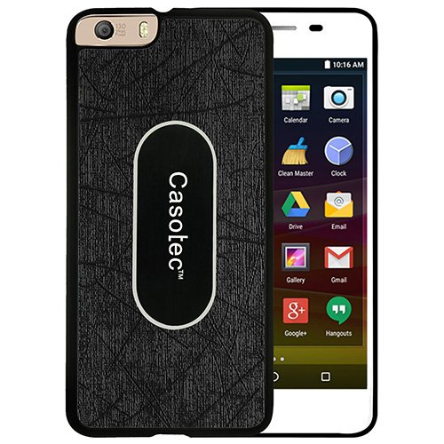 Casotec Metal Back TPU Back Case Cover for Micromax Canvas Knight 2 E471 - Black  available at amazon for Rs.149