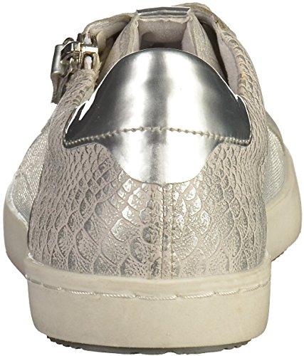 Remonte D5201 femmes Baskets Argenté