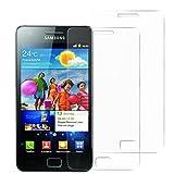 Mopiss Pack de 2 Film de Protection en Verre trempé pour Samsung Galaxy S2 (i9100)