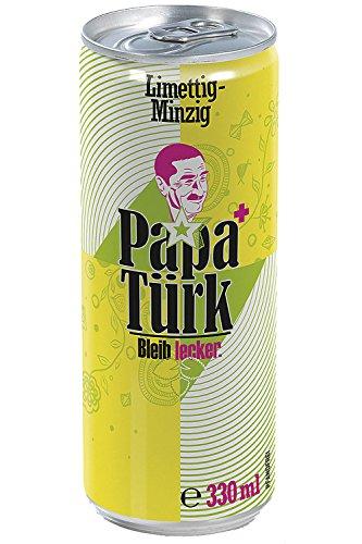 Papa Türk Atemfrischtrunk Limette-Minze 330 ml Dose