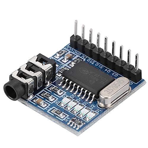 Bewinner A120 MT8870 DTMF Sprachdecoder-Modul Telefon Audio Decoder Sprachdecodierung Sprachdecoder-Modul mit Fahrzeug Mehrfrequenz Decoder Chip MT8870 Dtmf Tone Decoder