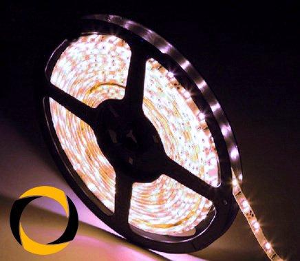 Preisvergleich Produktbild Ascending Composites LED Stripe White 60 LEDs / m DC-12-V White-PCB 2, 5 Meter