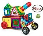 Children Hub 96pcs Magnetic Building...