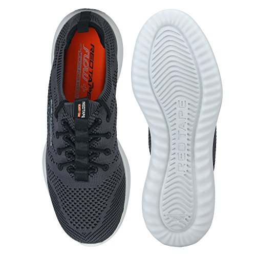 6e8316fce Red Tape Men s Grey Running Shoes