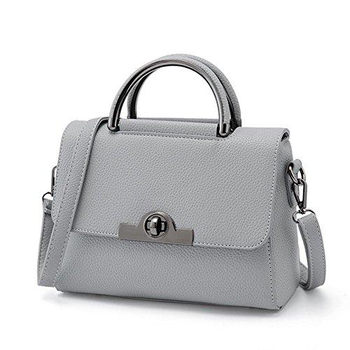 GBT Neue Tendenz-Damen-Handtaschen-Schulter-Beutel light gray