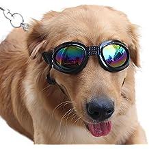 Efbock Pet Gafas Gafas de sol para perros Gafas para perros Golden Retriever Samoyed Gafas de sol Gafas Big Dog Gafas de sol